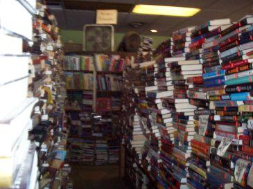 Inside the Derby Square Book Store in Salem, Massachusetts ©2013 Sara Letourneau