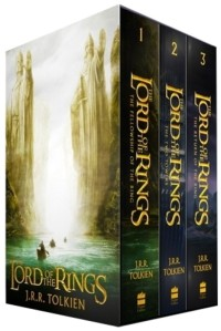 LOTR book trilogy