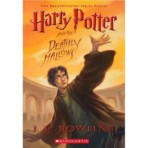 Harry Potter Deathly Hallows cover