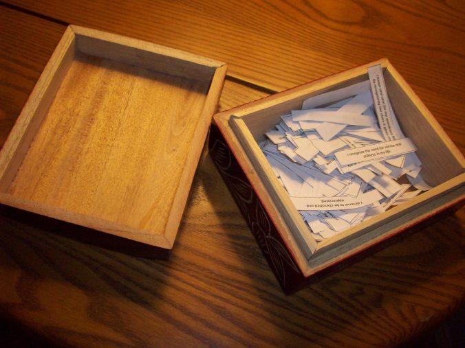 Affirmation Box 1