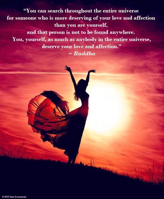 Buddha self love quote