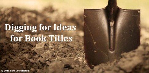 Digging For Ideas For Book Titles logo