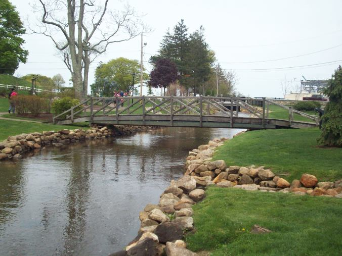 Another view of the bridge, from the opposite side of Town Brook