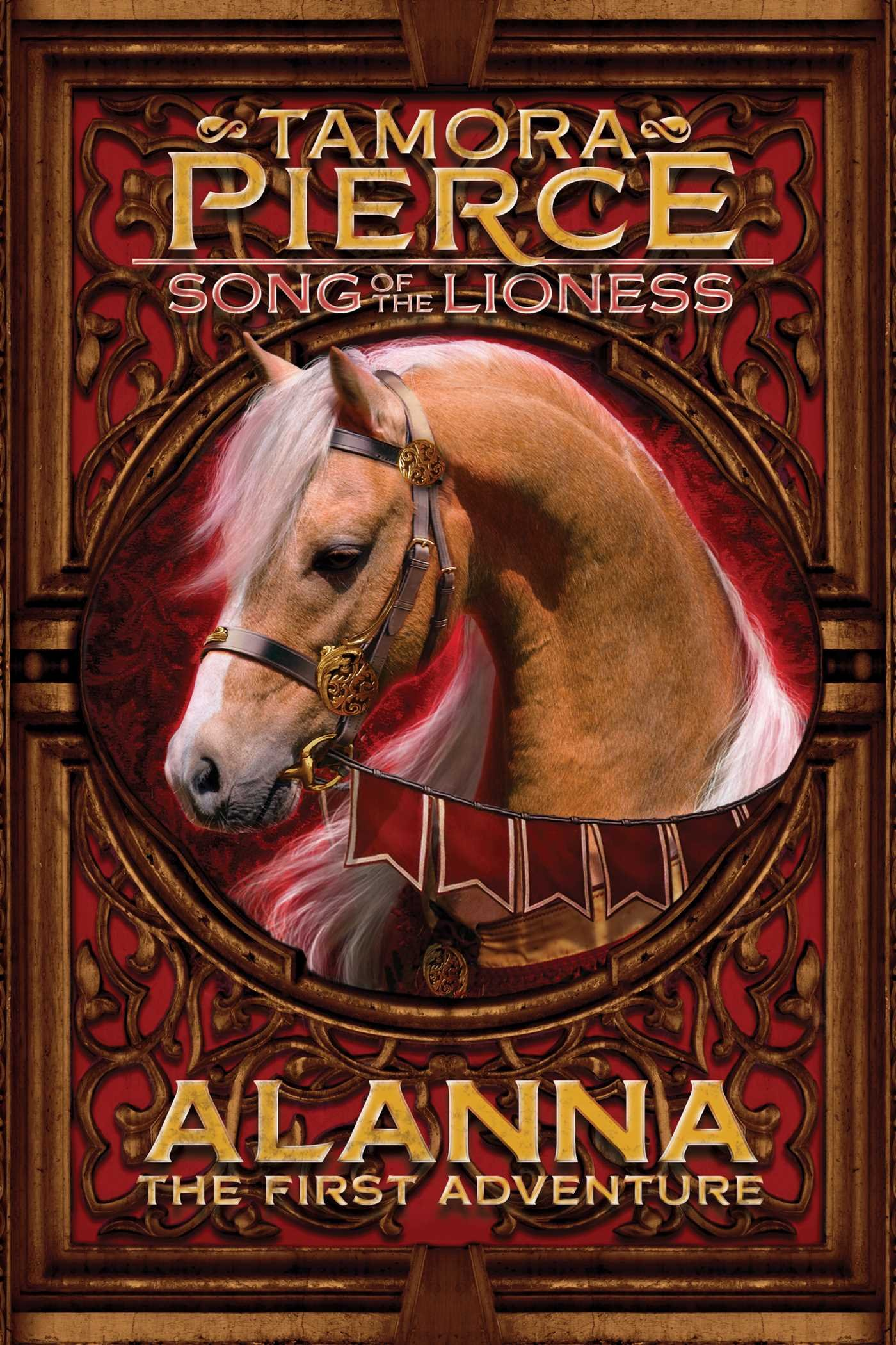 Image result for alanna the first adventure pierce book cover