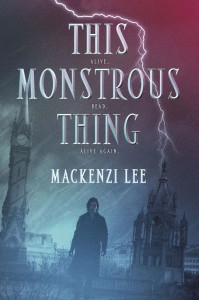 This Monstrous Thing cover