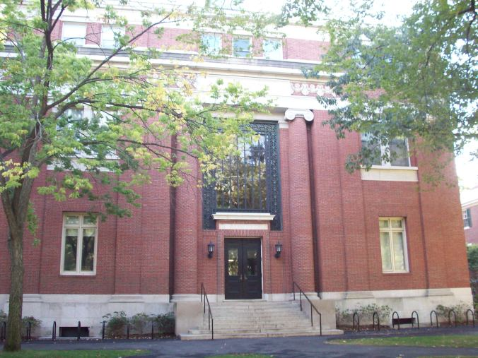 Emerson Hall at Harvard University / Photo taken by Sara Letourneau