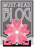 Must Read Blog Award, presented by Alex Hurst