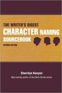 Character Naming Sourcebook cover