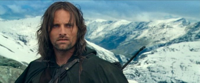 Aragorn Pass of Caradhras