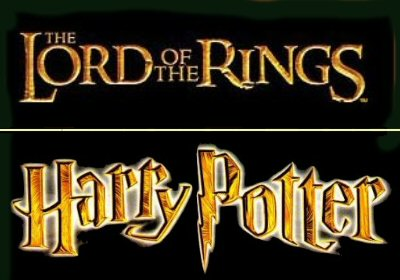 LOTR and Harry Potter logos