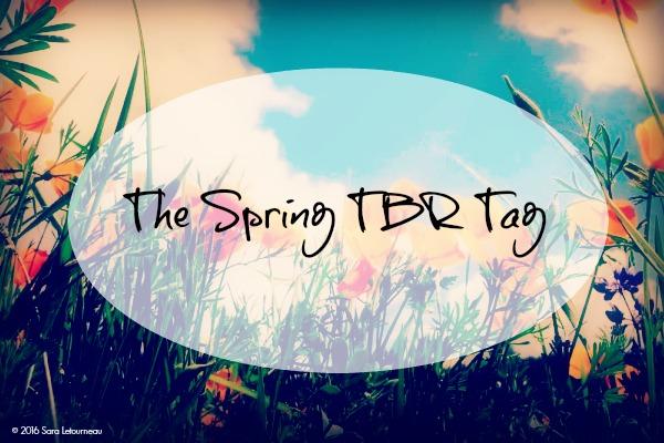 Spring TBR Tag banner