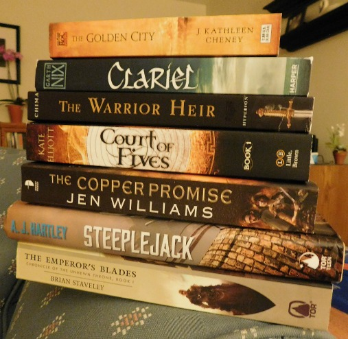 I didn't need to buy more books this month... Yet I did. (*blushes*) Have you read any of these?