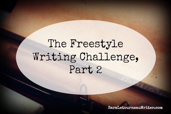 Freestyle Writing Challenge Pt 2 banner