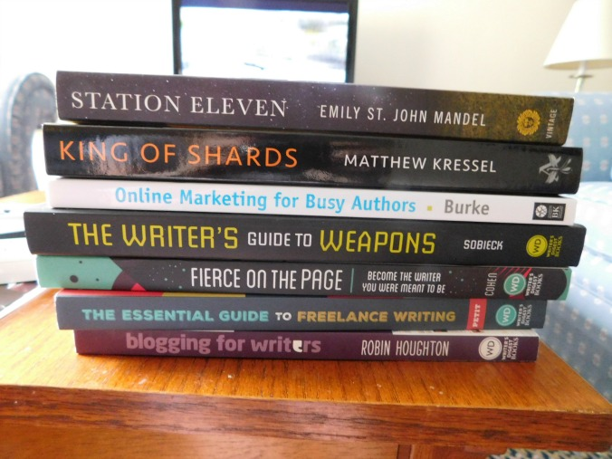 Book haul from WDC 2016